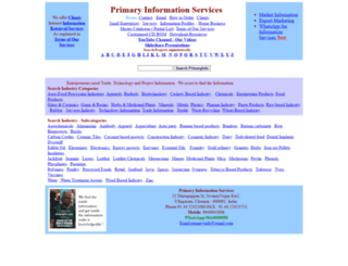 primaryinfo.com screenshot