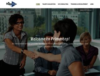 primastep.com screenshot