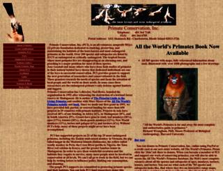 primate.org screenshot