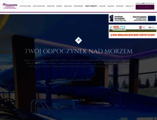 primaveraspa.pl screenshot