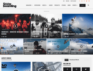 prime-snowboarding.de screenshot