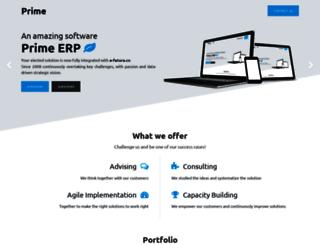 prime.cv screenshot