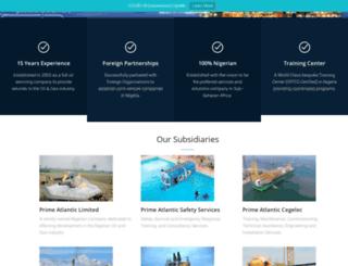 primeatlanticnigeria.com screenshot