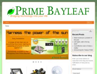 primebayleaf.com screenshot