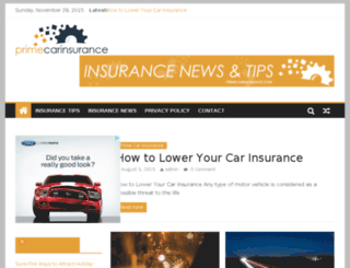 primecarinsurance.com screenshot