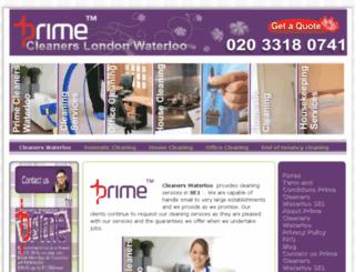 primecleanerswaterloose1.co.uk screenshot