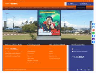 primedia.co.ug screenshot