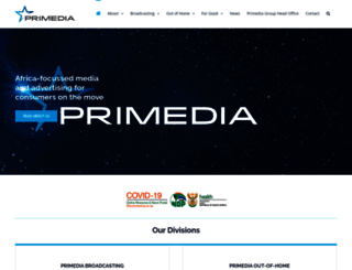 primedia.co.za screenshot