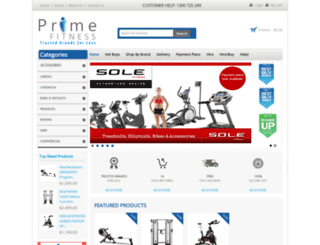 primefitness.com.au screenshot