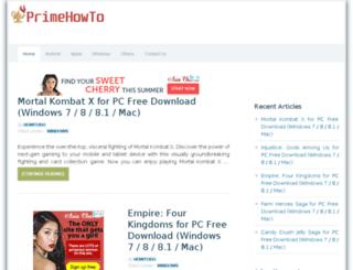 primehowto.com screenshot