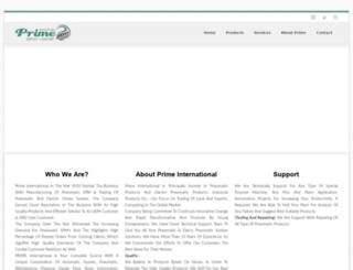 primeintl.in screenshot