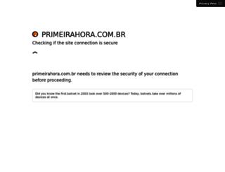 primeirahora.com.br screenshot
