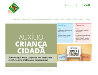 primeirainfancia.org.br screenshot