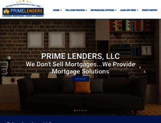 primelendersinc.mortgagexsites.com screenshot