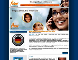 primelenses.com screenshot