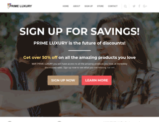 primeluxury.services screenshot