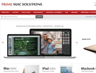 primemacsolutions.com screenshot