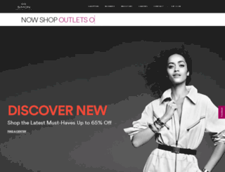 primeoutlets.com screenshot