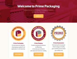 primepackaging.com screenshot