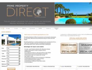 primepropertydirect.com screenshot
