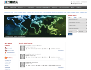 primepune.com screenshot
