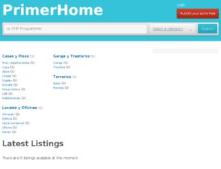 primerhome.com screenshot
