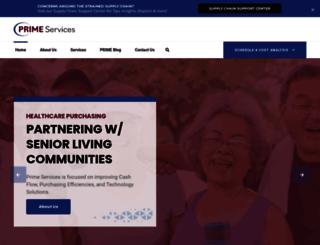 primeservicesinc.com screenshot