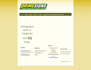 primesigns.net screenshot