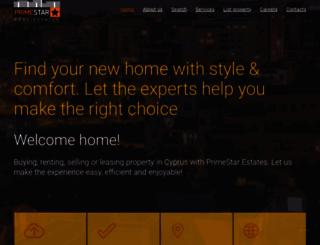 primestar-estates.com screenshot