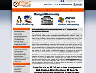 primetech.af screenshot