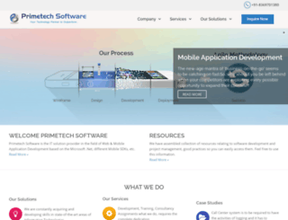 primetechsoftware.com screenshot