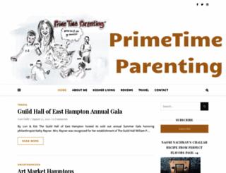 primetimeparenting.com screenshot