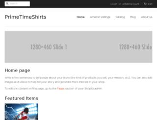 primetimeshirts.com screenshot