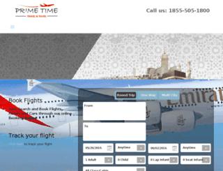 primetimetravelnyc.com screenshot