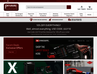 primetools.co.uk screenshot