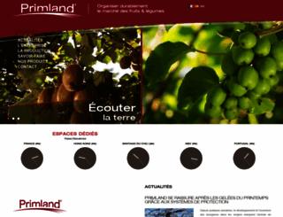 primland.fr screenshot