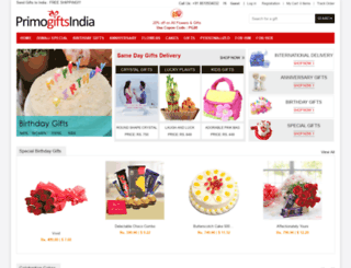 primogiftsindia.com screenshot