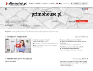 primohouse.pl screenshot
