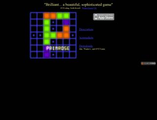 primrose.sourceforge.net screenshot