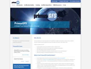 primusgfs.com screenshot