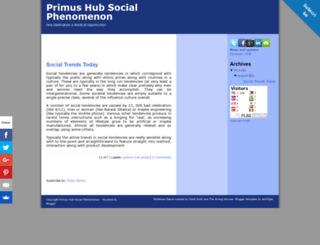 primushubsocial.blogspot.com screenshot