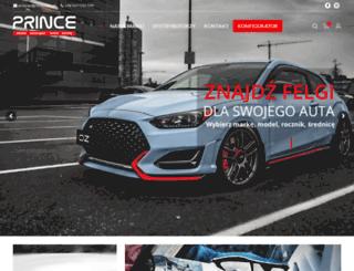 prince.com.pl screenshot
