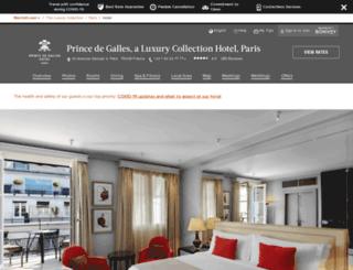 princedegallesparis.com screenshot
