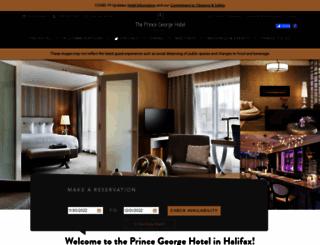 princegeorgehotel.com screenshot