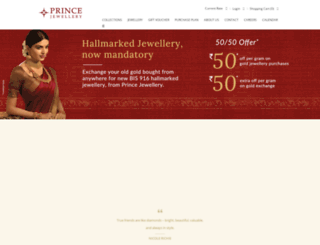 princejewellery.com screenshot