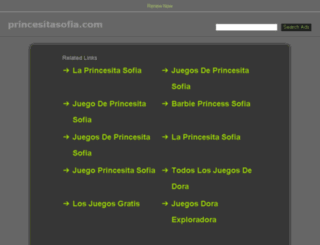 princesitasofia.com screenshot