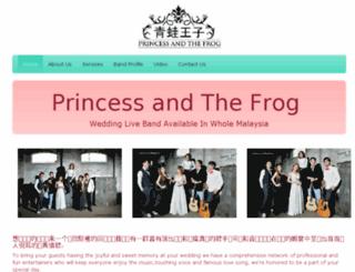princessandthefrog.biz screenshot