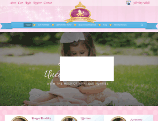 princesspuppies.com screenshot