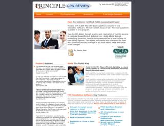 principle-cpareview.com screenshot