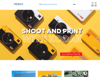 prinics.com screenshot
